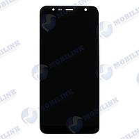 Дисплей Samsung J6+ 2018 J610F Чёрный Black GH97-22582A  оригинал!