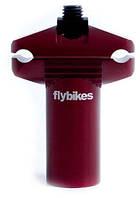 Подседельная труба FLYBIKES MICRO x55 мм flat dark red