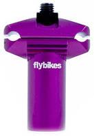 Подседельная труба FLYBIKES MICRO x55 мм flat purple