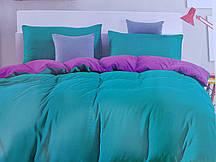 Сатиновая постель Однотонная в ассортименте Евро размер