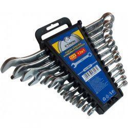 Набір комбінованих ключів CRV 12 шт Сталь 48007