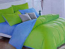 Сатиновая постель Однотонная в ассортименте 2х спалка