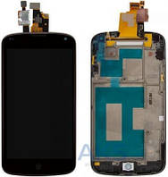 Дисплей (экран) для телефона LG Nexus 4 E960 + Touchscreen with frame Original