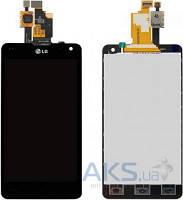 Дисплей (экраны) для телефона LG G E970, G E971, G E973, G E975, G E976, G E977, G E987, G F180K, G F180L, G F180S, G LS970 + Touchscreen Black