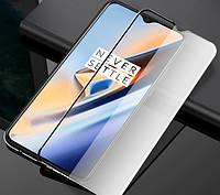 Защитное стекло с рамкой для OnePlus 6T