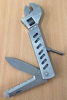 Нож + ключ разводной FH-4101