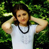 Женская футболка вышиванка в 5 цветаx | Жіноча футболка вишиванка в 5 кольорах, фото 1