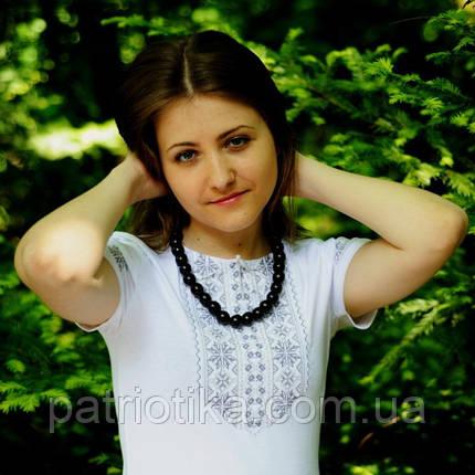 Женская футболка вышиванка в 5 цветаx | Жіноча футболка вишиванка в 5 кольорах, фото 2