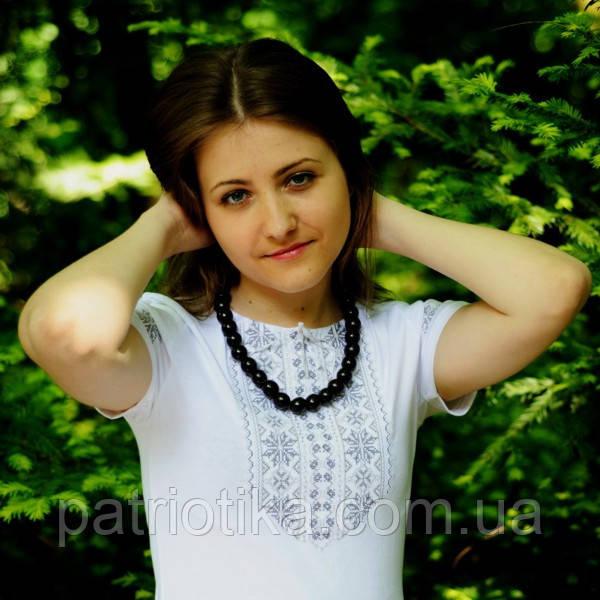 Женская футболка вышиванка в 5 цветаx | Жіноча футболка вишиванка в 5 кольорах