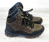 Спортивные зимние мужские ботинки коричневые, фото 1