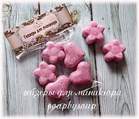 "Набор гейзеров для маникюра ""Сердечки - цветочки"", фото 1"