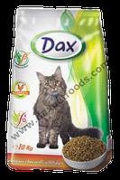 Сухой корм для кошек Dax® (Дакс, Венгрия) с птицей, 10 кг