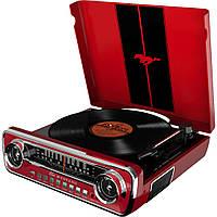 Граммофон ION Audio Mustang LP red