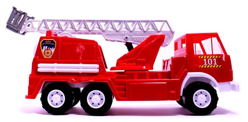Игрушечная машинка К-маз Х3 Пожарная машина (034) Орион