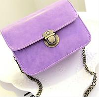 Сумка женская клатч детская на цепочке Фиолетовый