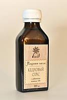 Кедровое масло с 15 живицей