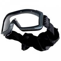 Очки Bolle тактические X1000 чёрные, прозрачные линзы # X1NSTDI