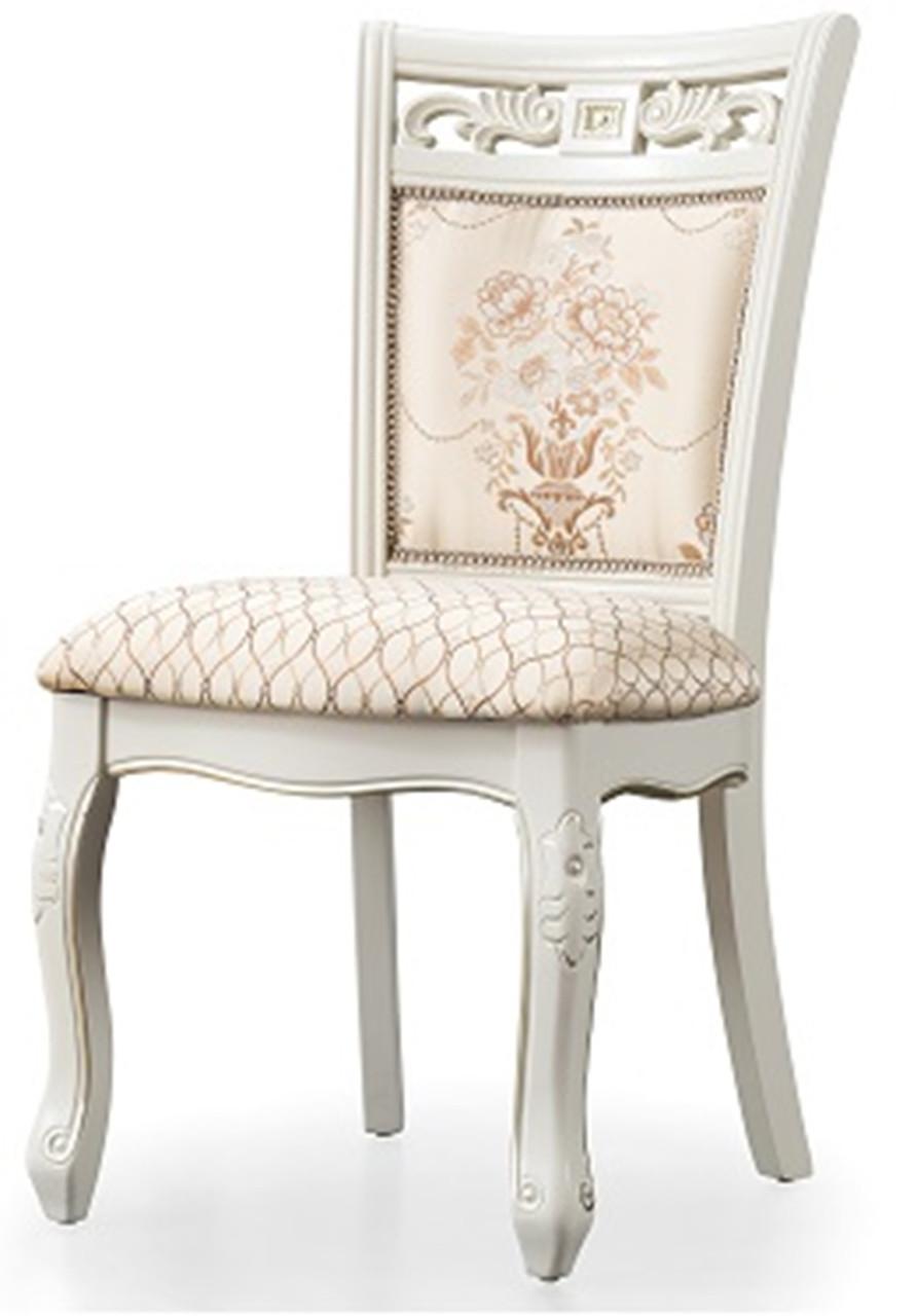 Обеденный стул 8037 Daming белый