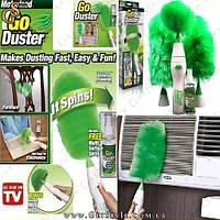 "Щетка для уборки - ""Go Duster"" - 3 насадки"