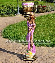Подставка для цветов кашпо Олеся, фото 2