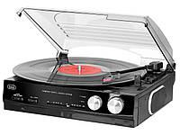 Граммофон TREVI TT 1010 black + виниловая пластинка Winylove