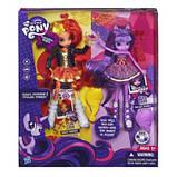 Набор кукол My Little Pony Equestria Girls Сансет Шимер и Твайлайт Спаркл, фото 3