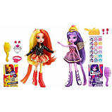 Набор кукол My Little Pony Equestria Girls Сансет Шимер и Твайлайт Спаркл, фото 2