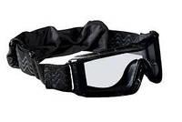 Очки Bolle тактические X810 чёрные, прозрачные линзы # X810NPSI