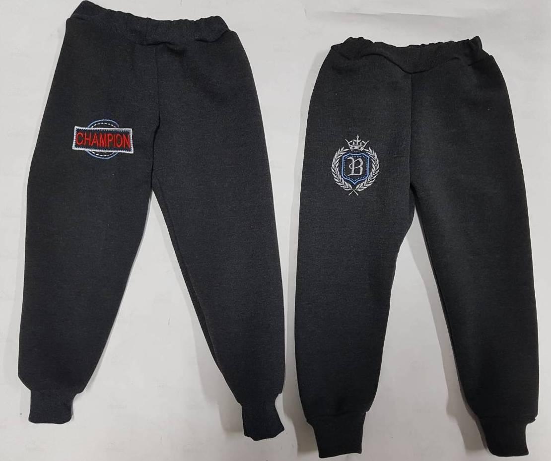 Тепленькие штаны с вышивкой
