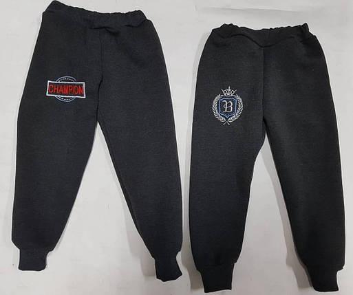 Тепленькие штаны с вышивкой, фото 2