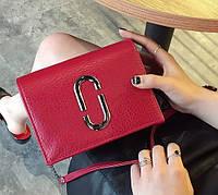 Сумка женская через плечо клатч в стиле Whorse Красный, фото 1