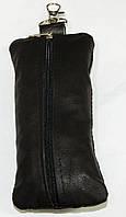 Кожаная мужская ключница кх 2 коричневая, фото 1
