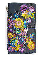 Блокнот ручной работы Фантастические цветы (S088L) КОД: 353864
