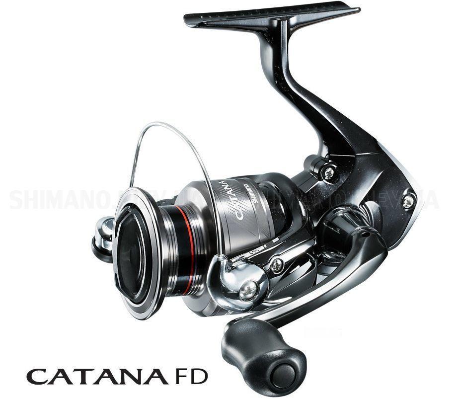 Катушка Shimano 18 Catana 4000 FD 2+1BB (2266.79.79 CAT4000FD)