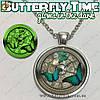 "Украшение на шею - ""Butterfly Time"" + подарочная упаковка"