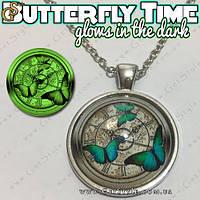"Украшение на шею - ""Butterfly Time"" + подарочная упаковка, фото 1"