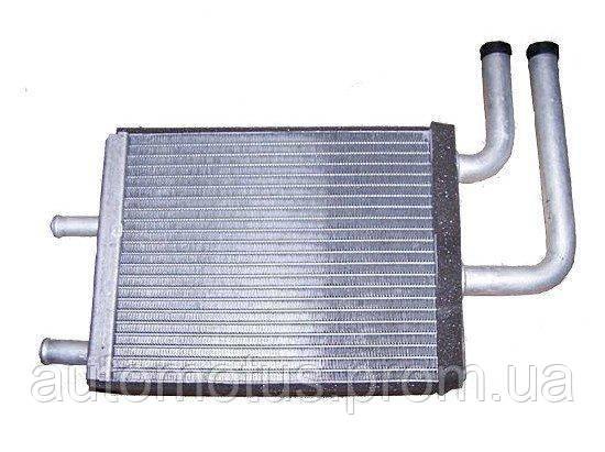 Радиатор печки (4 трубки)