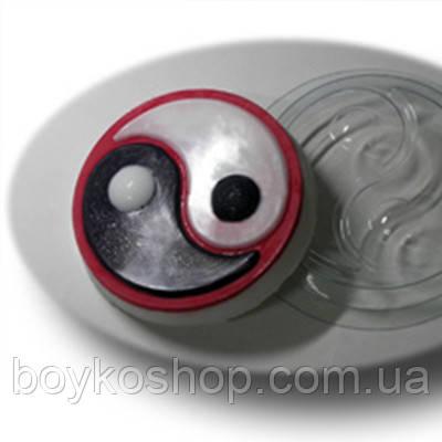 Форма пластиковая для мыла Инь-Янь