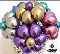 Твистинг- фигурки из ШДМ хромовые  (шарики для моделирования Хромовые, фото 1