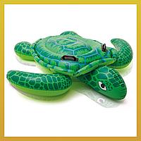 Надувной плот с ручками Черепаха, Intex (56524)