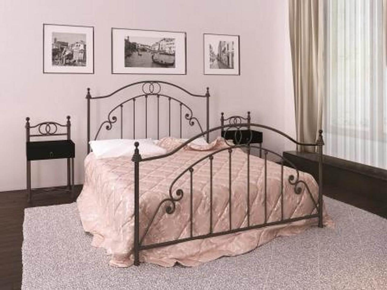 Ліжко Флоренція/Firenze, металева