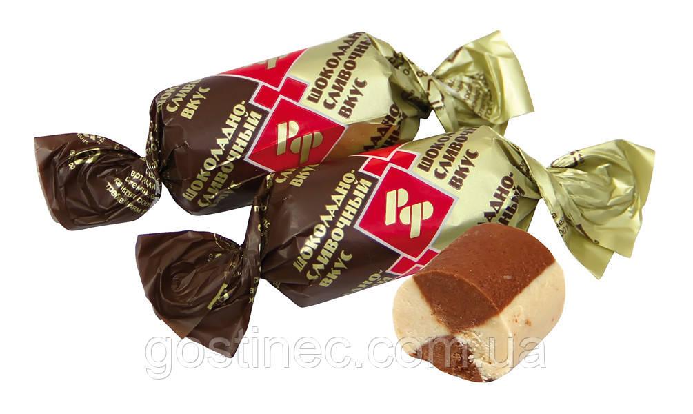 Шоколадная конфета батончик Рот Фронт шоколадно-сливочный