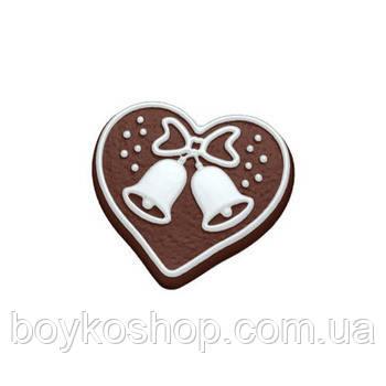 Форма для мыла Пряничное сердечко