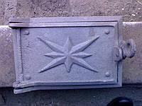 Печное и чугунное литье: Дверь чуг. поддувало (220*265)
