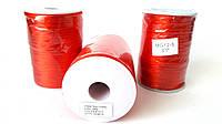 Шнур(d1.5-2мм) для браслетов Шамбала красный, шёлковый. И для красной нити (~100метров), фото 1