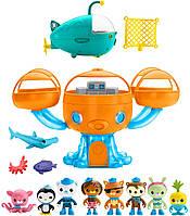 Игровой набор октонавты Октобаза Подводная станция 8 фигурок и подводная лодка Gup-A Fisher-Price Octonauts, фото 1