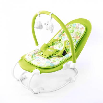 Дитяче крісло-шезлонг, шезлонг TILLY BT-BB-0004 Green, фото 2