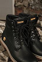 Кожаные ботинки Timberland + набор для ухода за ними В ПОДАРОК Размеры в наличии 36-47, фото 3