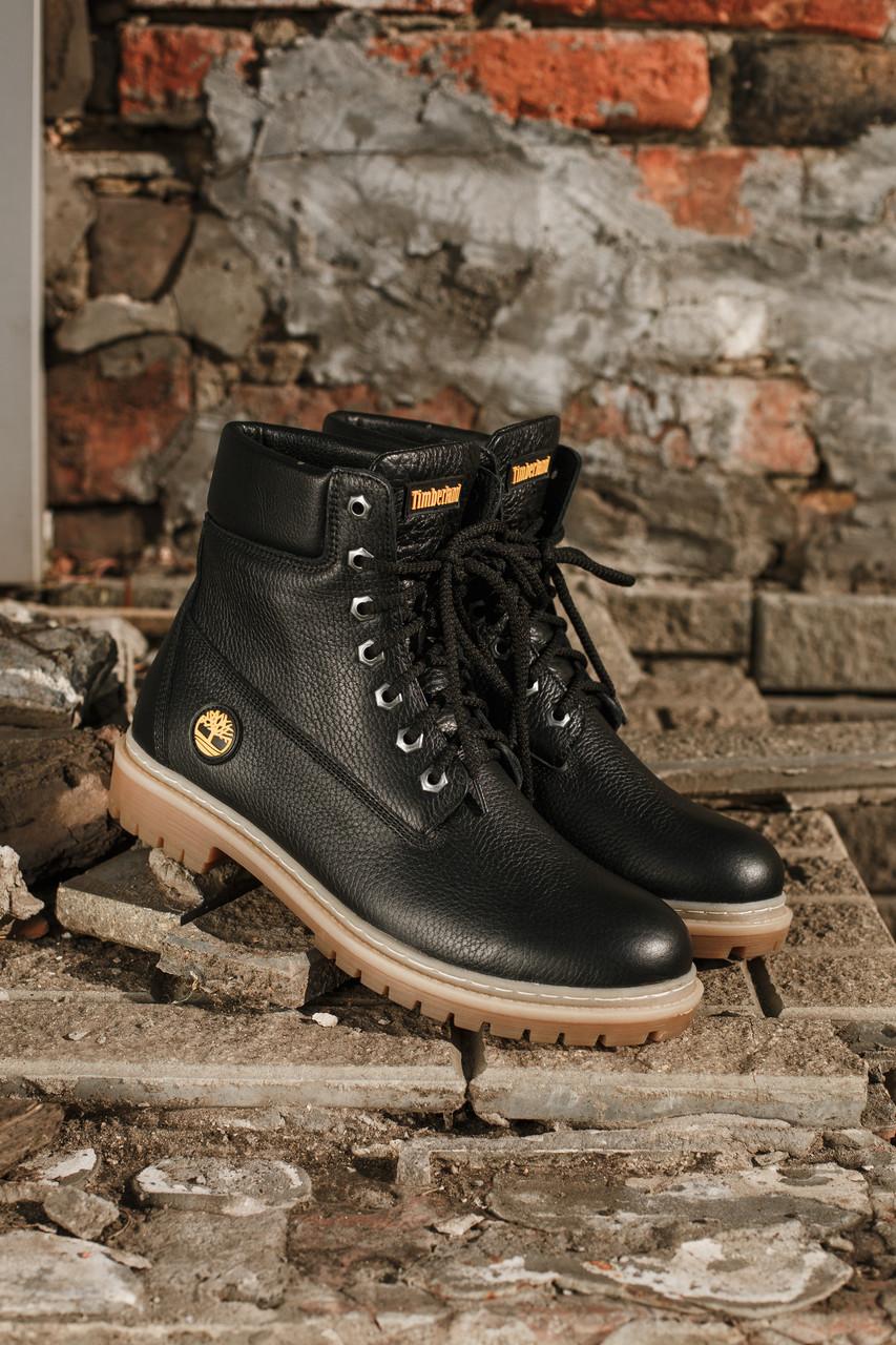 Кожаные ботинки Timberland + набор для ухода за ними В ПОДАРОК Размеры в наличии 36-47