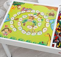 Съемное игровое поле для столика-песочницы KIDZ ZONE Цифры